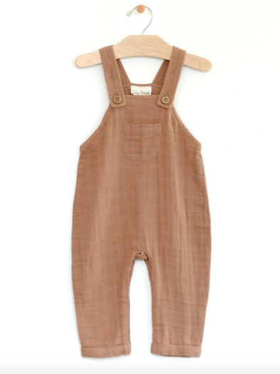 City Mouse - Muslin Overall in Latte