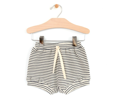 City Mouse - Ribbed Boy Short Bloomers in Stripe