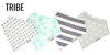 Copper Pearl - Baby Bandana Bib Sets of 4 - Multiple Styles Available