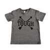 I'm Tough #TeamParkerJoe Tee in Heather Grey