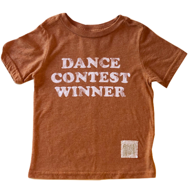Kids Dance Contest Winner orange