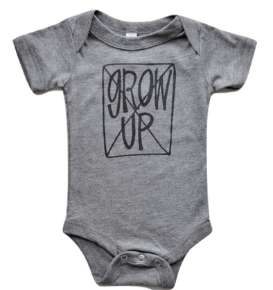 Don't grow up baby onesie