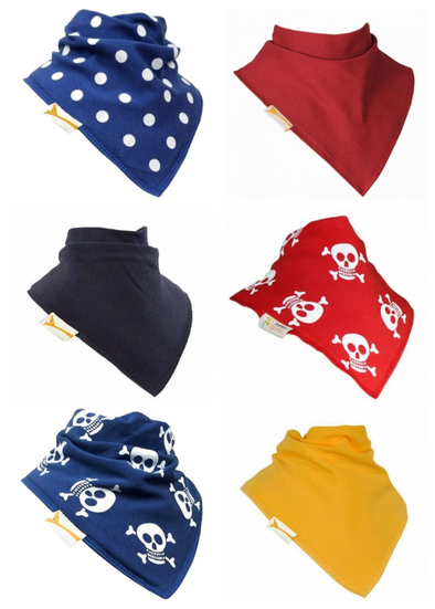 Baby bandana bibs various colors