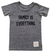 Toddler kids Family is everything tee