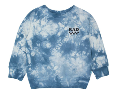 Feather 4 Arrow Rad tie dye pullover