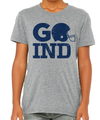 GO IND - Colts Tee in Heather Grey (Size 3T and 4T)