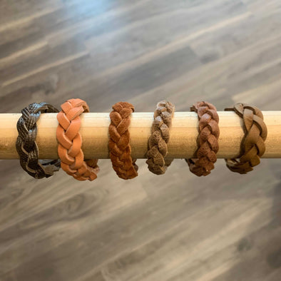 Toddler boys leather bracelet