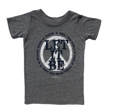Let It Be Beatles kids shirt