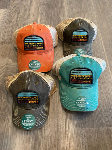 Roman & Leo - Indiana Patch Unstructured Snapback - 3 colors available