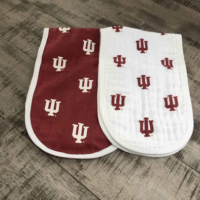 IU baby burp cloth