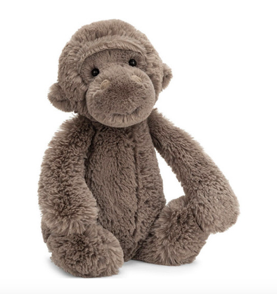 Jellycat Medium Bashful Gorilla 12""