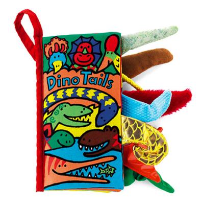 Jellycat - Dino Tails Activity Book 8""
