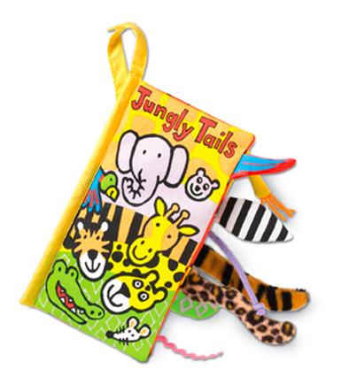 Jellycat - Jungly Tails Activity Book 8""
