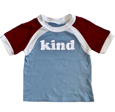kids retro vintage kind tee