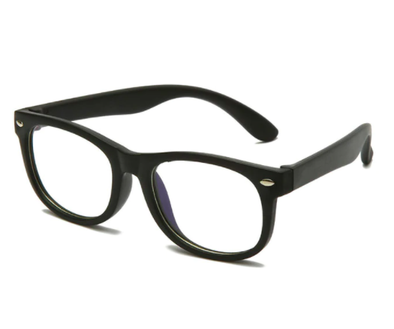 Children's Blue Light Glasses in Black