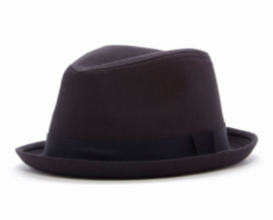 Toddler baby boy black fedora