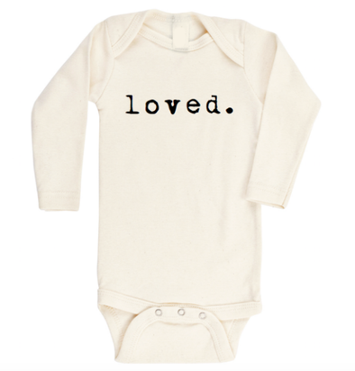 newborn onesie LOVED