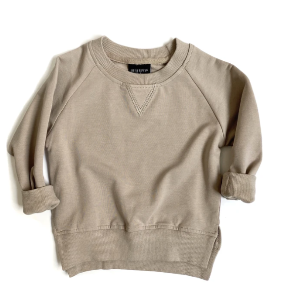 Little Bipsy taupe pullover