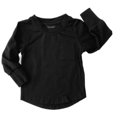 Little Bipsy pocket tee black