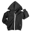Little Bipsy black zip hoodie