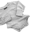 Little Bipsy - Basic Long- Sleeve Onesie in Grey