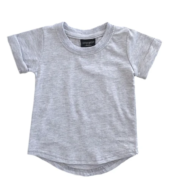 Little Bipsy basic tee grey