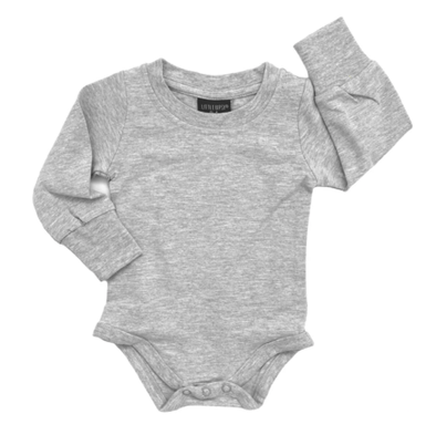 Little Bipsy grey onesie