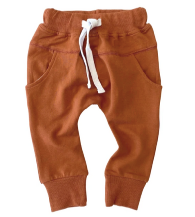 Little Bipsy rust joggers