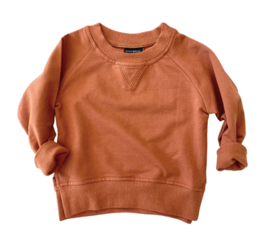 Little Bipsy rust pullover