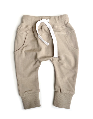 Little Bipsy - Pocket Joggers in Taupe