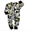 Little Bipsy 2 way zip romper camo