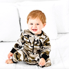 Little Bipsy - Two-Way Zip Romper in Camo