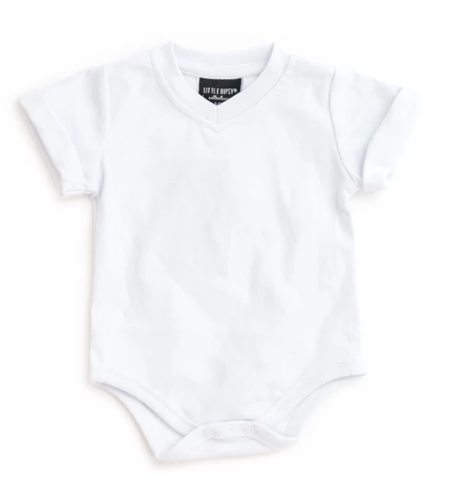 Little Bipsy white onesie