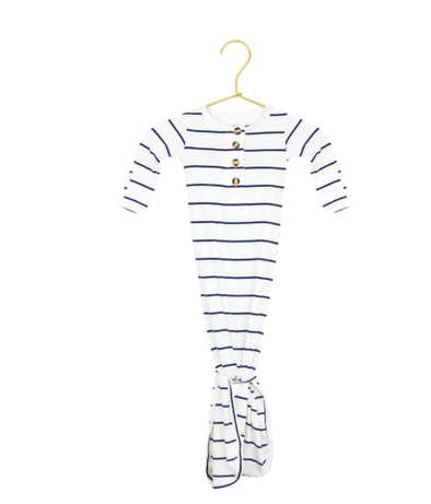 Lou Lou & Company - Infant Knotted Gown in Wyatt