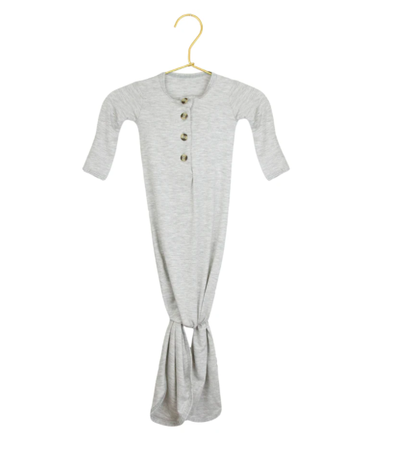 Lou Lou and Co heather grey knot gown