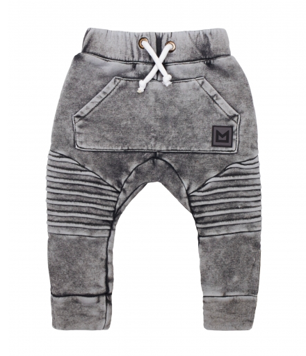 MINIKID classics pants in acid graphite
