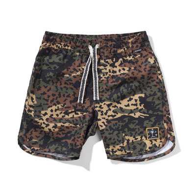 MunsterKids animal camo board short