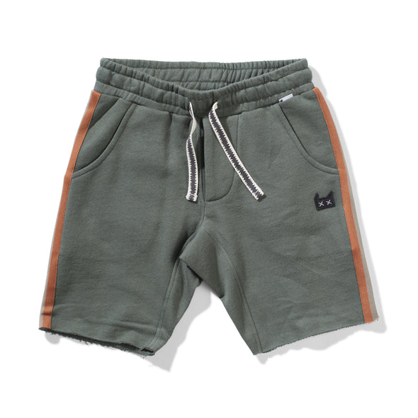 Munster Kids - Hidenout Shorts in Army