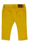 Mayoral - Baby Boys Slim Fit Pants in Mustard (Size 12mo and 18mo)