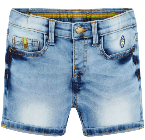 Mayoral boys bleached denim shorts