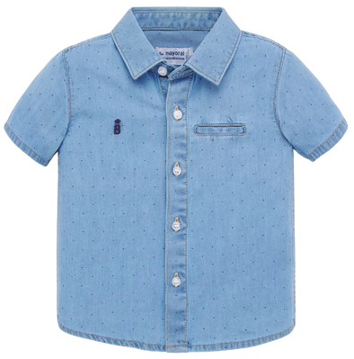 Mayoral baby denim shirt