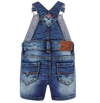 Mayoral - Baby Soft Denim Shorts Overalls