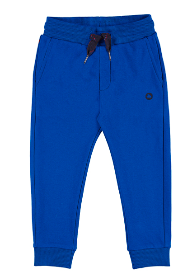 Mayoral - Boys Sweat Pant Joggers in Sapphire Blue (Size 4T)
