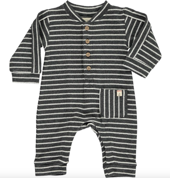 Me and Henry striped baby romper