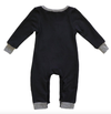 Miki Miette - Logan Romper in Black