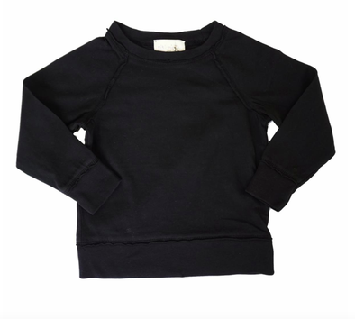 Grey Vintage Black Pullover sweatshirt