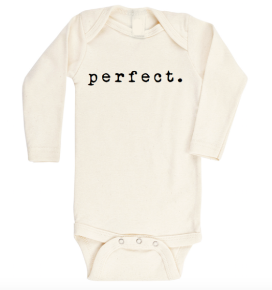 Baby Perfect natural onesie
