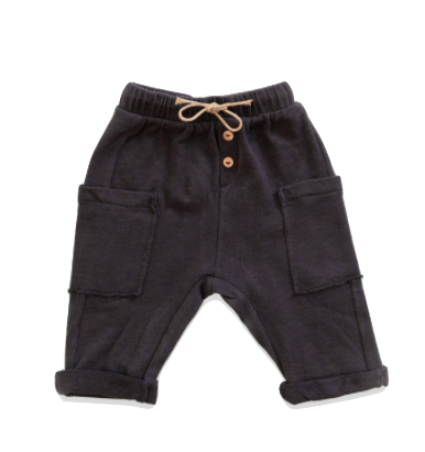 Play UP - Baby Soft Pocket Pants in Coal