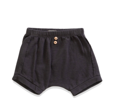 Play UP - Soft Baby Shorties in Coal (Size 12mo)