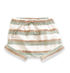 Play up striped baby shorts